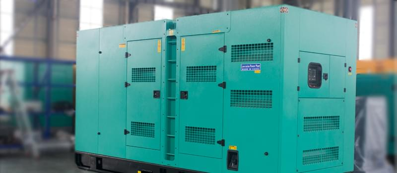 The diesel generator set components - generator