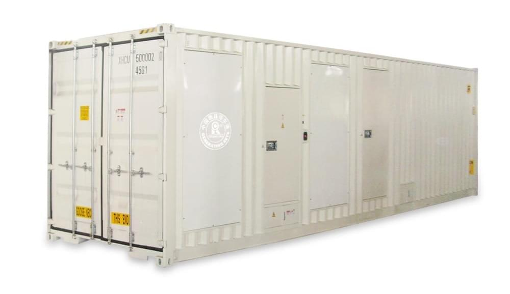 Advantages of container diesel generator sets