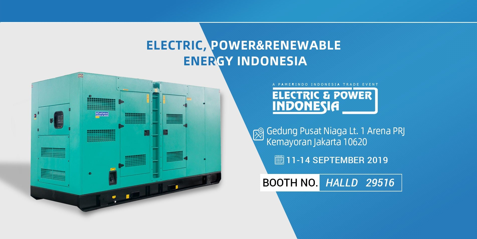 Electric, Power&Renewable Energy Indonesia 2019