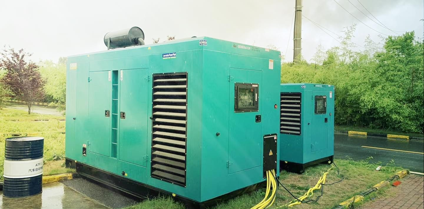PAVO Diesel generator set solved the drainage plant problem